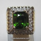 Natural Green Zircon + Memo