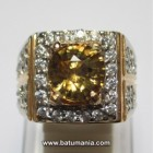 Batu Yellow Zircon (Sirkon Kuning) Natural